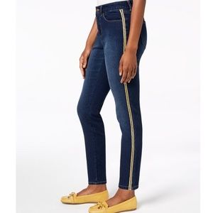 Charter Club Jeans - CHARTER CLUB Side Stripe Skinny Ankle Jeans